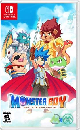 Monster Boy and the Cursed Kingdom + Update (Switch NSP) | Switch