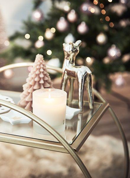 Weihnachtsdeko Xmas.Weihnachtsdeko In Zartem Rosé Christmas Romance Romantik Fans