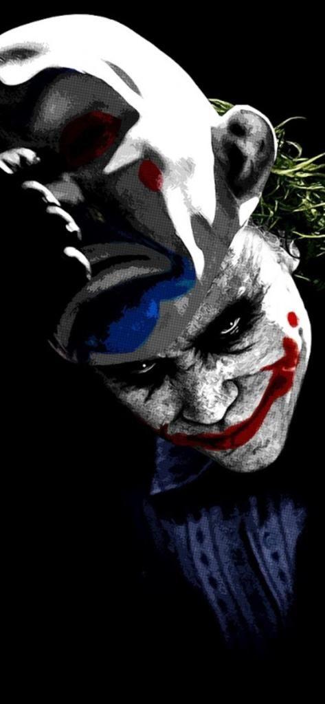 Iphone X Screensaver 4k Joker 8k 7v 11252436 Download Free