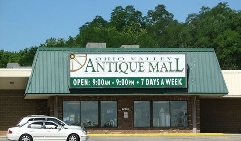 Ohio Valley Antique Mall This Place Is Huge Rows And Rows