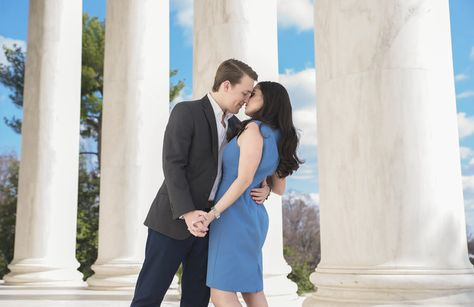 Interesting Engagement Poses Our Best Photos Gorgeous Clouds Bride And Groom Kiss Dc Wedding Photography Photographer