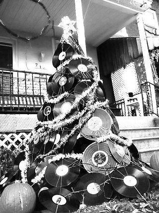 Rock n\' roll Vinyl tree! #Smitten #Scrubs #uniforms #healthcare ...