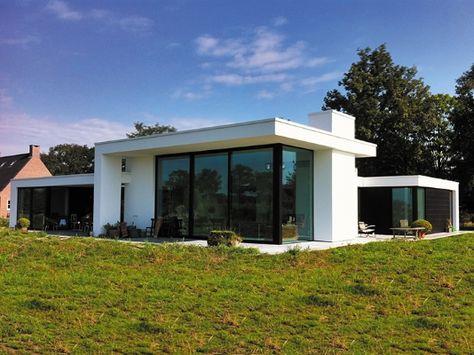 Flachdachbungalow Modern grundriss bungalow modern klein holz suche sommerhaus