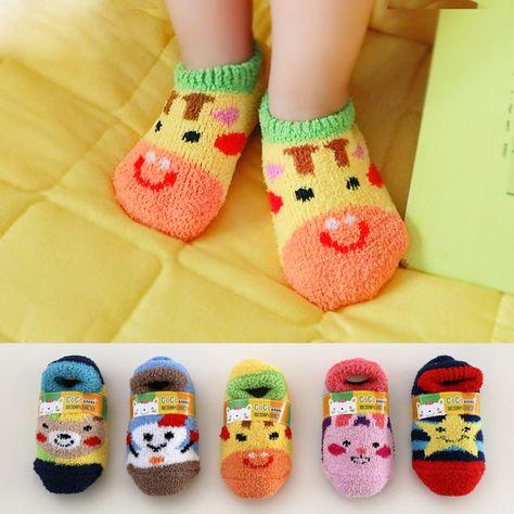 Alamana Fashion Baby Infant Faux Leather Soft Warm Anti-Slip Prewalker Toddler Shoes Black 12cm