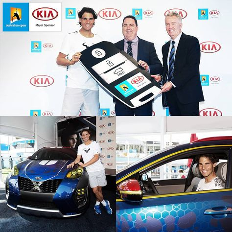 Kia Motors Worldwide On Instagram Kiaxcar Proudly Presented By Rafael Nadal The Brand Ambassador Of Kia The Major Spon Kia Kia Motors Brand Ambassador