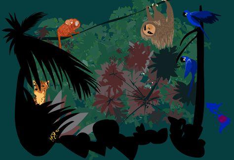 Rainforest Animals For Kids Amazon Rainforest Animals