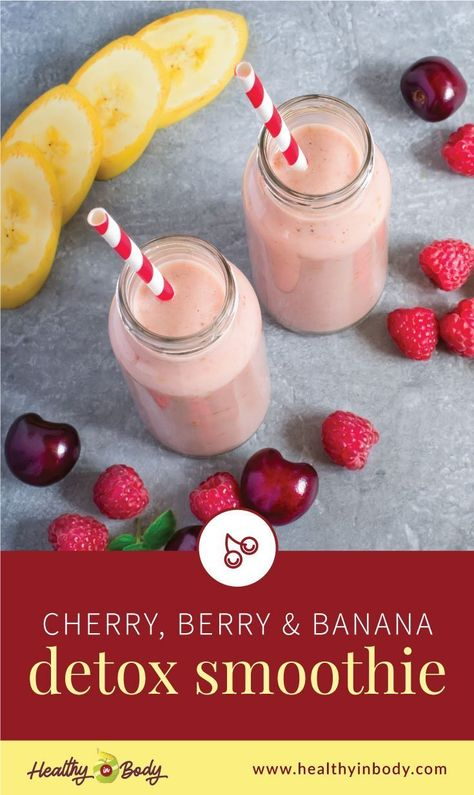 Give yourself a guilt-free treat by making this filling vegan and dairy-free breakfast smoothie that helps with inflammation as well as liver detox. Because it's also fruity and tasty, this is definitely a healthy smoothie kids will love! | Get this easy recipe at healthyinbody.com #healthysmoothies #smoothierecipes #quickbreakfast #healthybreakfast #simplerecipes #smoothieforkids  #lowfat #lowcalorie #glutenfree #healthyinbody