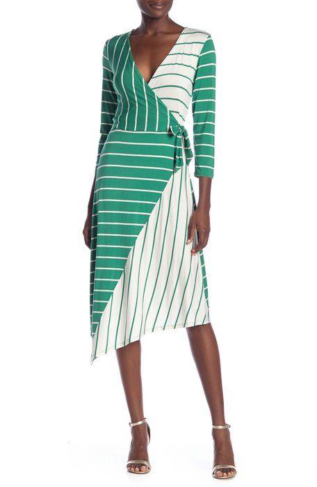 4464107f7 Eliza J Stripe Sweater Dress | Nordstrom