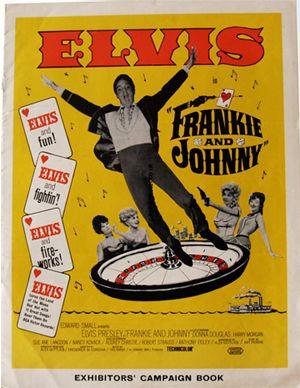 Frankie /& Johnny Elvis Presley vintage movie poster