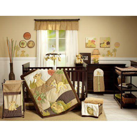 Piece Nursery Crib Bedding Set, Baby Crib Bedding Set Lion King