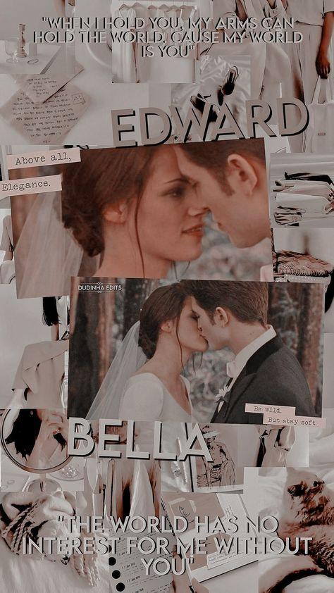 Wallpaper Edward e Bella