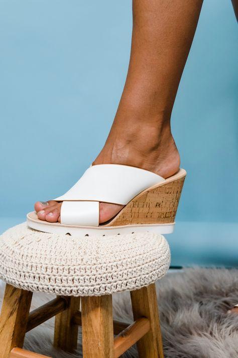 Dolce Vita Lida Cork Wedge Sandal in
