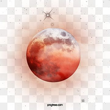 Red Moon Creative Texture Hand Painted Pattern Luminescence Moon Natural Phenomenon Png Transparent Clipart Image And Psd File For Free Download Painting Patterns Red Moon Wallpaper Earth