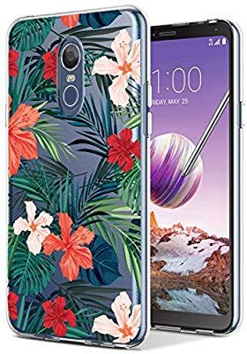 new style 5d5e8 25b26 Amazon.com: LG Stylo 4 Case,LG Stylus 4 with flowers, BAISRKE Slim ...