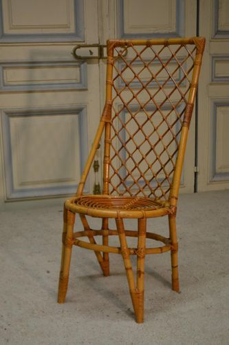 Rattan Side Chair 1970s Rattan Furniture Side Chairs Rattan
