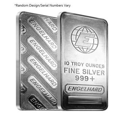 10 Oz Engelhard Silver Vintage Bar 999 Fine Random Design Bullion Bullionexchanges Preciousmetals Invest Stack Collect Silver Vintage Bar Silver Bars