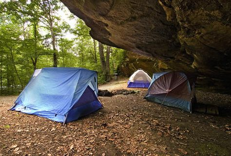 Dismals Canyon Conservatory | Campsite, Camping, The great