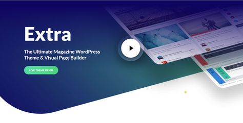 Extra — WordPress Theme And The Ultimate WordPress Page Builder | Stylelib