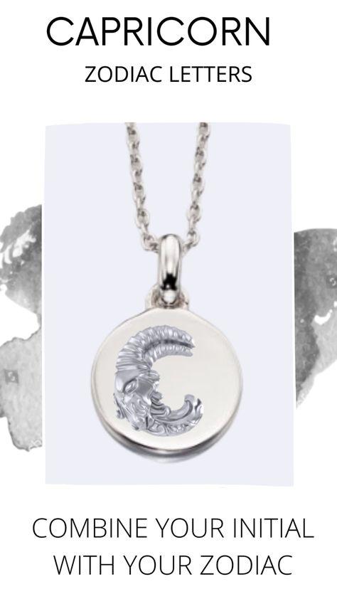 #zodiacnecklace #sɪʟᴠᴇʀᴊᴇᴡᴇʟʀʏ #madeinnyc #horoscopesigns #capricornwoman #capricornlife #zodicaletters #zjova