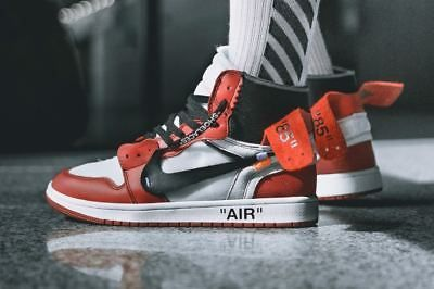 Nike x Off White Air Jordan 1 The Ten Sz 5 6 7 8 9 10 11