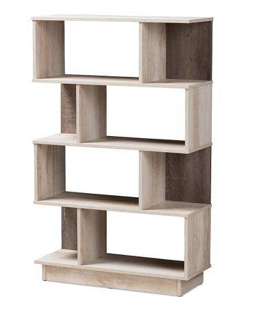 Love This Oak Teagan Four Tier Bookcase On Zulily Zulilyfinds
