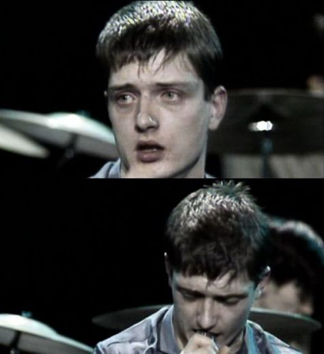 Ian Curtis. Such a lost face. #musicalband #musical #band #80s