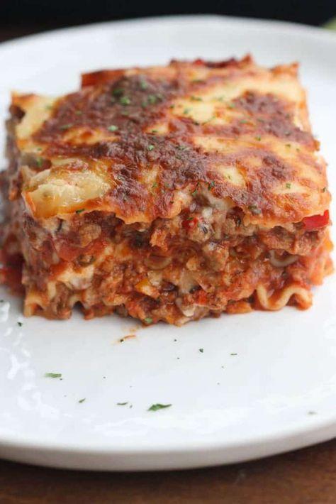 Classic Italian Lasagna - Tastes Better From Scratch
