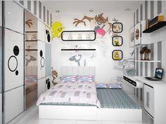 Tip Desain Kamar Anak Perempuan Ukuran 2x2