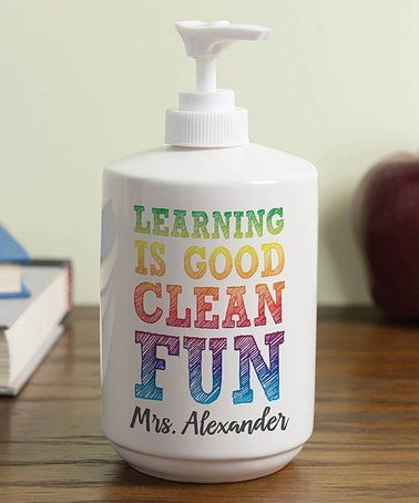 Teachers Gift Learning Is Good Clean Fun Personalized Soap