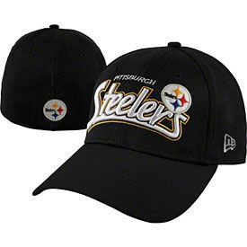 53d2d505c Get this Pittsburgh Steelers Tail Swoop Classic Flex Fit Cap at  ThePittsburghFan.com