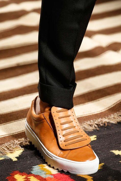 See detail photos for Salvatore Ferragamo Spring 2016 Menswear collection.