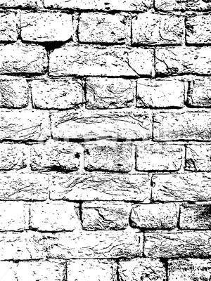Brick Wall Vintage Vector Texture Overlay Stock Illustration Ad Vintage Vector Brick Wall Overlays Brick Wall Brick