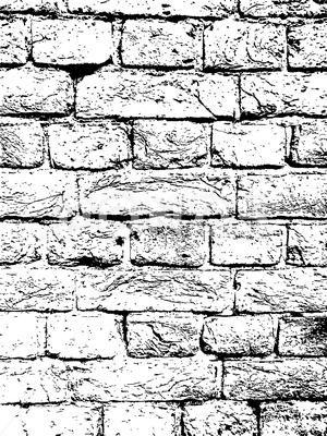 Brick Wall Vintage Vector Texture Overlay Stock Illustration Ad Vintage Vector Brick Wall Overlays Brick Wall Brick