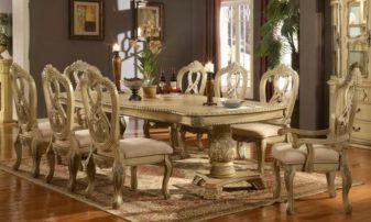 Antique Formal Dining Room Sets 09  Dining Room Design Gorgeous Antique Formal Dining Room Sets Decorating Design
