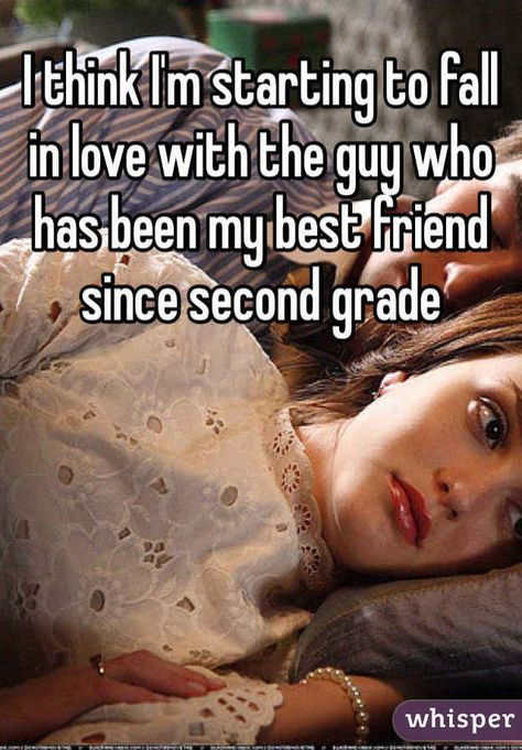 Weird; I've been best friends with my guy friend since second grade as well. What does this mean?