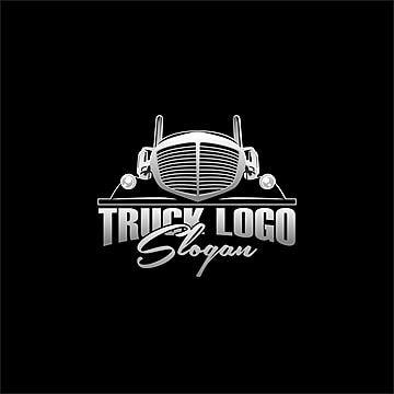 Truck Logo Design Simple Vector Simple Logo Design Automotive Logo Design Logo Design