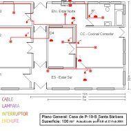 Planos Electricos De Una Casa Hacer Planos De Casas Plano Electrico Planos Para Construir Casas