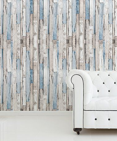 Look At This Zulilyfind Brown Timber Strip Wallpaper Decal Zulilyfinds Stripped Wallpaper Vinyl Wall Panels Peel And Stick Wallpaper