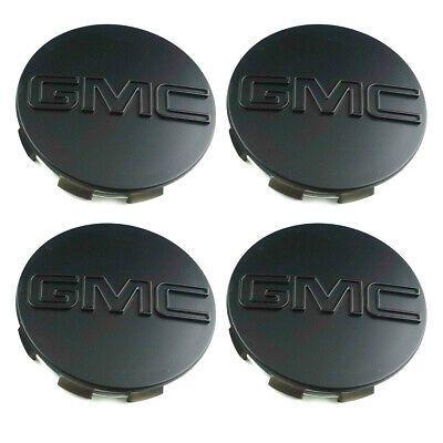 Advertisement Ebay 4pcs Gmc Sierra Yukon Wheel Center Hub Caps 83mm Black Matte 20942032 23357064 In 2020 Hub Caps Gmc Sierra Gmc