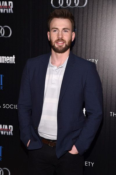 Chris Evans attends a screening of Marvel's 'Captain America: Civil War.'