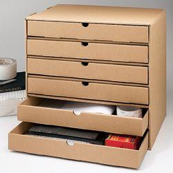 Diy  Drawer Cardboard Organizer Cardboard Organizer Drawers And Drawer Organisers