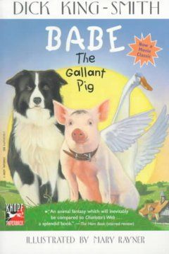 A piglet destined for eventual butchering arrives at the farmyard, is adopted by an old sheep dog, and discovers a special secret to success.