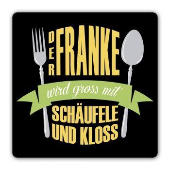 """Untersetzer /'/'Mit mir ist heute nicht gut Kirschen essen Schokolade geht!/"""""""
