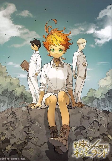Resultado de imagen para the promised neverland wallpaper