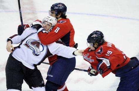 Hockey!  Ovechkin turning on the