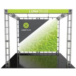 10 X 10 Truss Display Luna Tradeshow Booth Show Booth Trade Show Display