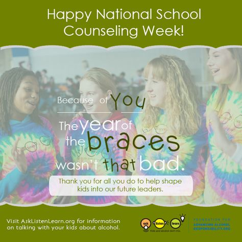 Middle School can be rough. Thanks to school counselors during National School Counseling Week for all you do for our tweens in these years of uncertainty.