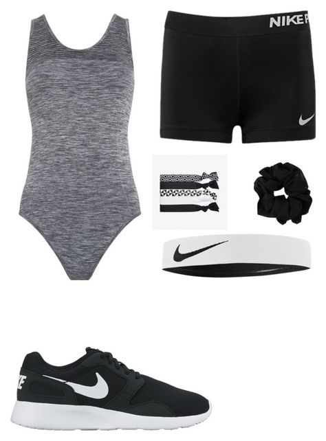 """""""what i wear to gymnastics"""" by beautyfashionbby11 on Polyvore featuring Whistles and NIKE"""