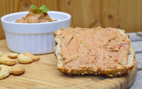 Veganer Brotaufstrich Mit Cashew Kernen Rezept Thermomix Rezepte