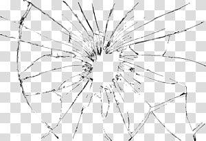 Broken Glass Glass Mirror Black Line Glass Transparent Background Png Clipart Mirror Illustration Shattered Mirror Shattered Glass